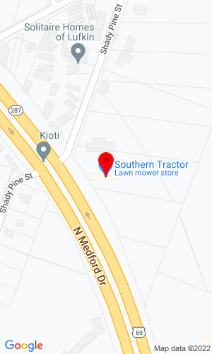 Google Map of Southern Tractor 1102 Medford Drive, Lufkin, TX, 75901