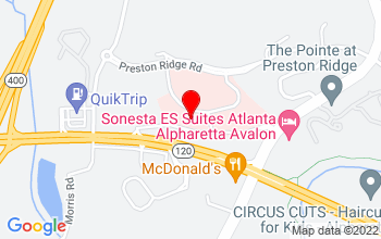 Alpharetta Location Google Map