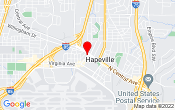 Hapeville Location Google Map