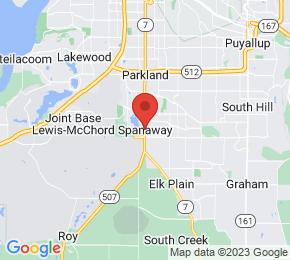 Job Map - Spanaway, Washington  US