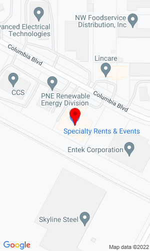 Google Map of Specialty Rentals & Attachment Co., Inc. 74 State Route 73, Hammonton, NJ, 08037
