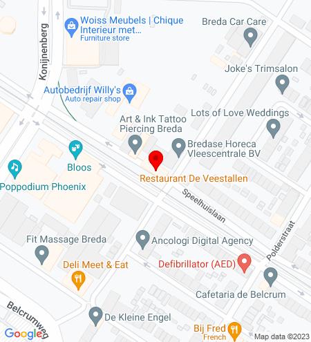 Google Map of Speelhuislaan 150 4815 CJ Breda