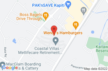 Google Map of Spencer Russell Drive, Paraparaumu, New Zealand