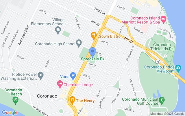 Spreckels Park, 601 Orange Ave, Coronado, CA 92118, USA