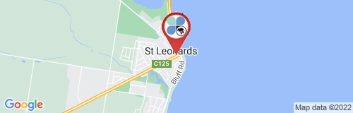 St Leonards google map