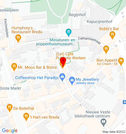 Google Map of St. Annastraat 12 4811 XK Breda