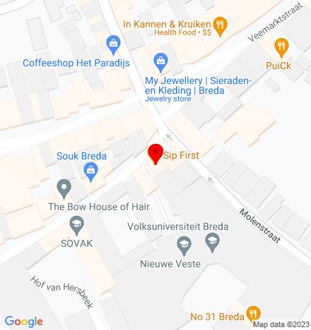Google Map of St. Janstraat 24 4811 ZL Breda