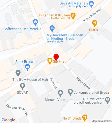 Google Map of St. Janstraat 26 4811 ZL Breda