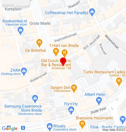 Google Map of St. Janstraat 4 4811 ZL Breda