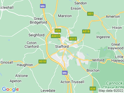 Personal Injury Solicitors in Stafford