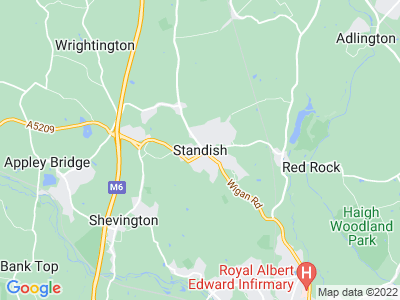 Injury Solicitor in Standish