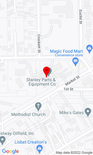 Google Map of Stanley Parts & Equipment Co. 16127 Market Street, Channelview, TX, 77530