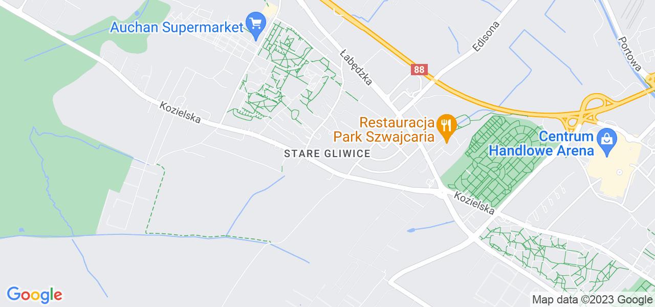 Osiedle Stare Gliwice w Gliwicach – w tych punktach ekspresowo wyślesz turbinę do autoryzowanego serwisu