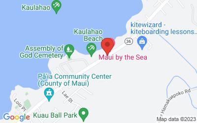 Map of Baldwin Beach