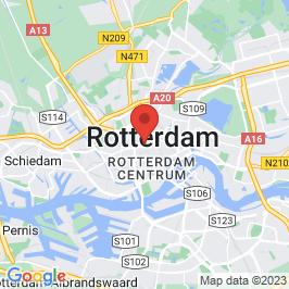 Google map of Groot Handels Gebouw, Rotterdam