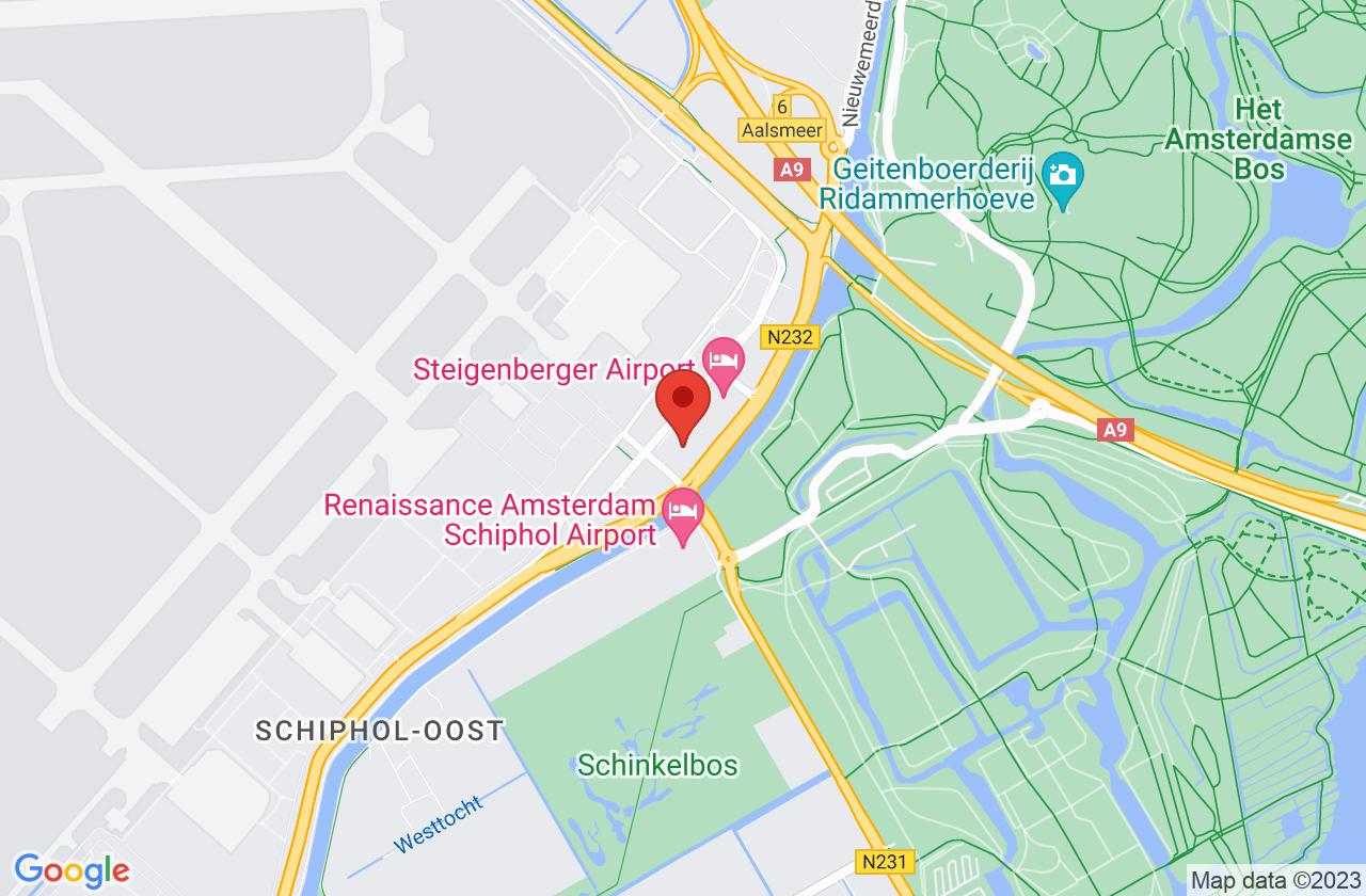 Luchtverkeersleiding Nederland on Google Maps