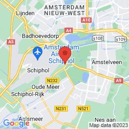 Google map of Restaurant & sociëteit 'De Oude Toren', Schiphol Oost