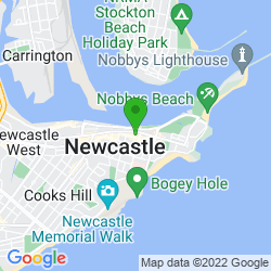 Google Map of Stay Digital, Newcastle, NSW Australia