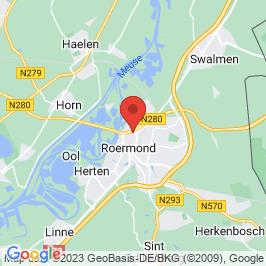 Google map of Ondernemersplein Limburg, Roermond