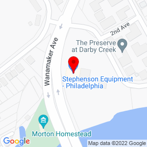 Google Map of Stephenson Equipment, Inc.+135+Lincoln+Avenue+Prospect+Park+%28Philadelphia%29+PA+19076
