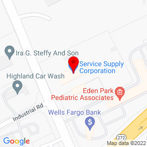 Google Map of Stephenson Equipment, Inc.+1805+Newport+Road+Ephrata+PA+17522