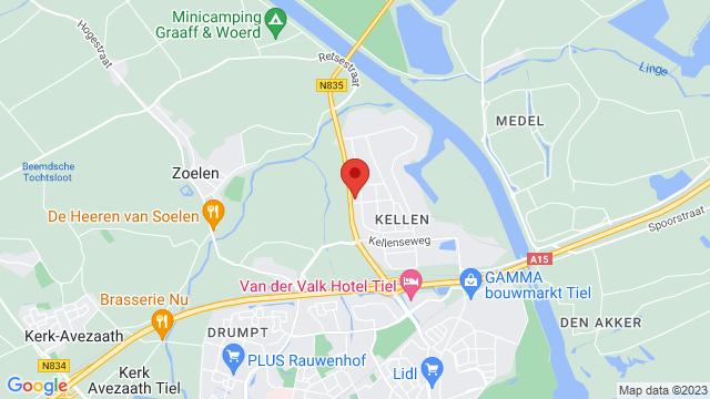 Van+Mossel+VKV+Nissan+Tiel op Google Maps