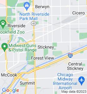 Stickney IL Map
