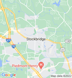 Stockbridge GA Map