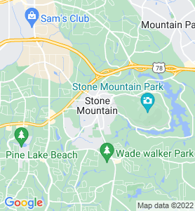 Stone Mountain GA Map