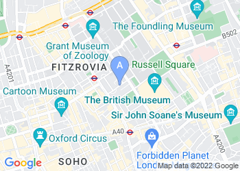 Map for The Building Centre, London