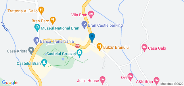 Strada Valea Porţii 2, Bran, Brașov County 507025, Romania