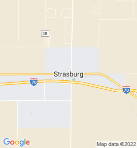 Strasburg CO Map