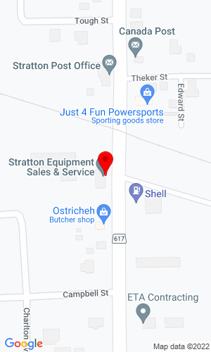 Google Map of Stratton Equipment Sales & Service Ltd Highway 617 North, Stratton, ON, P0W 1N0