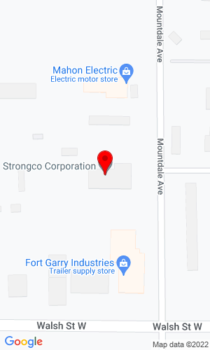 Google Map of Strongco 655 Mountdale Avenue, Thunder Bay, ON, P7E6E5
