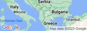 Struga map
