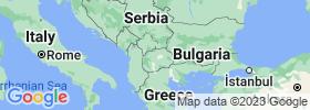 Studeničani map