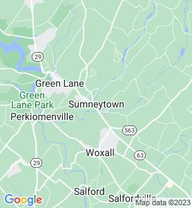 Sumneytown PA Map