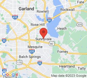 Job Map - Sunnyvale, Texas  US