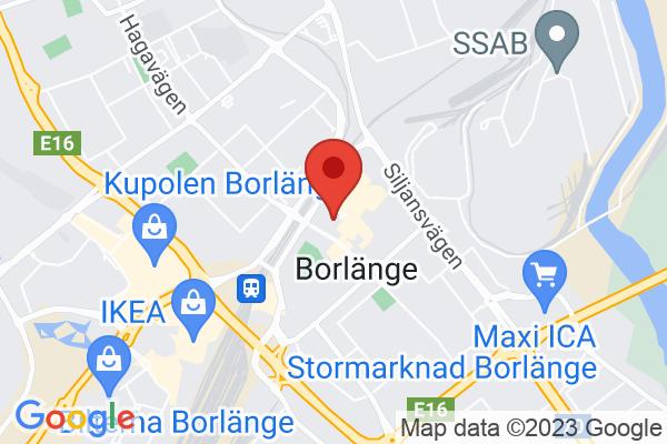 Map Borlänge