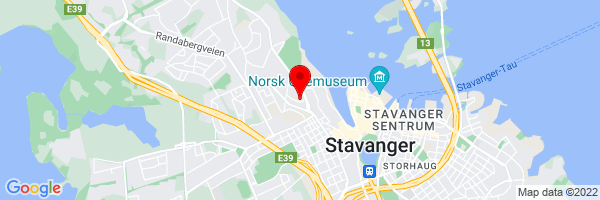 Google Map of Sverdrups gate 21, 4007 Stavanger