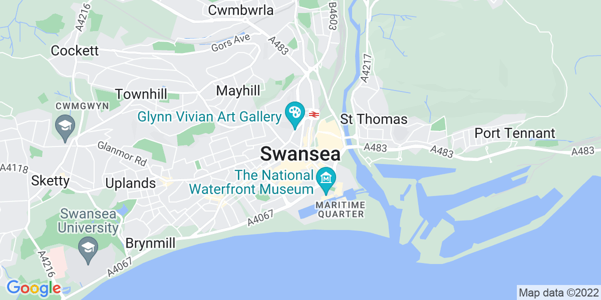 Map: Care Assistant - Flexible Hours role in Swansea