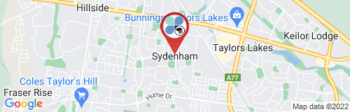 Sydenham google map