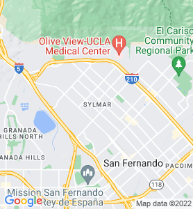 Sylmar CA Map