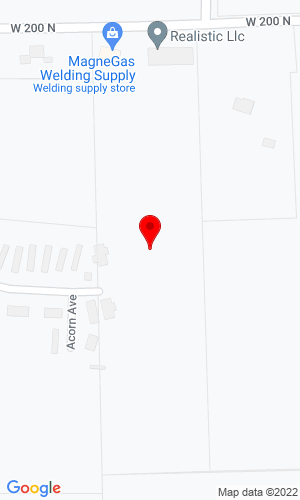 Google Map of T D Wall, Inc. 1901 Hickory Avenue, Huntington, IN, 46750