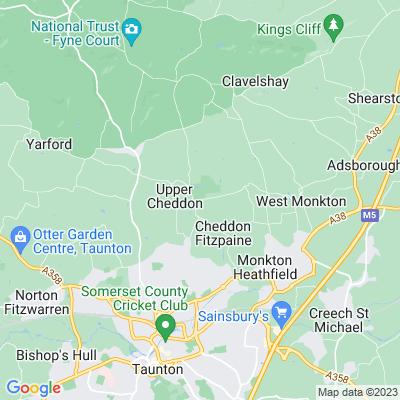 Hestercombe Location