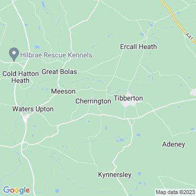 Cherrington Manor House Location