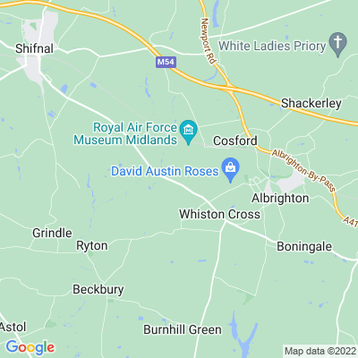 Cosford Grange Location