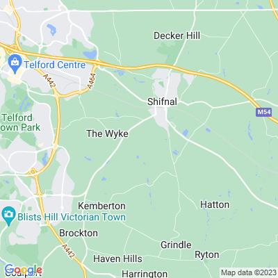 Shifnal Manor Location