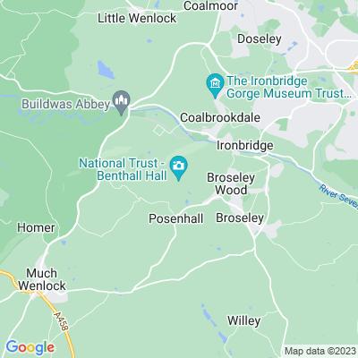 Benthall Hall Location