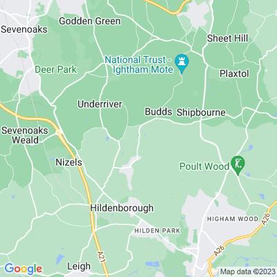 Fairhill, Shipbourne Location